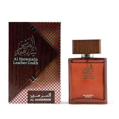 Haramain Leather Oudh Spray 100ml
