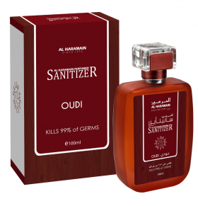 AL HARAMAIN PERFUMED SANITIZER OUDI 100ml