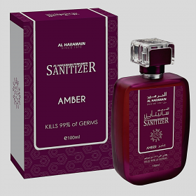 AL HARAMAIN PERFUMED SANITIZER AMBER 100ml