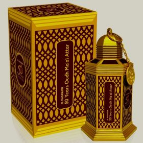 AL HARAMAIN 50 YEARS OUDH MA'AL ATTAR 90 gms